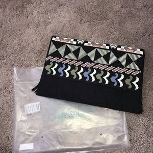 Stella and Dot Taj Clutch Size 9x13 - Brand New